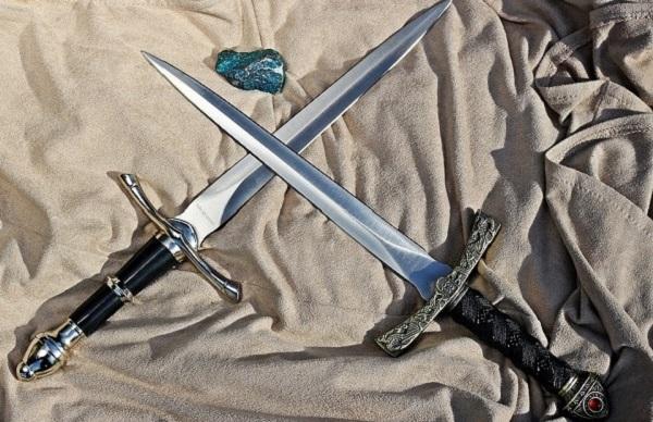 Ритуальный нож как инструмент практика