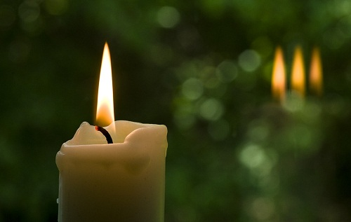 свеча на троицу