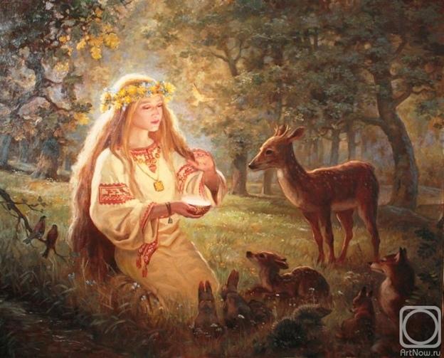 языческая богиня