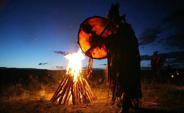 Взаимодействие с духами в шаманизме
