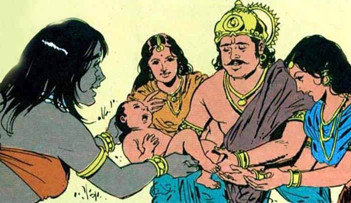 Мифы и легенды древней Индии. История о царе Джарасандхе