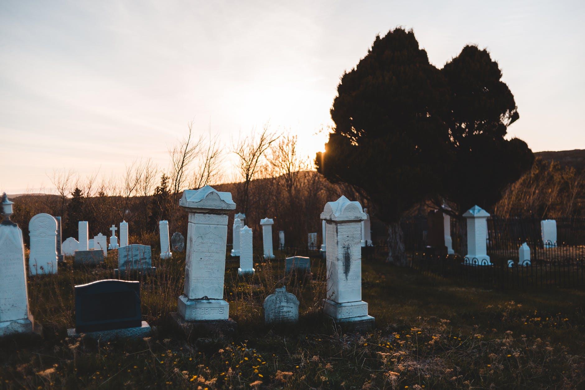 Символика кладбища