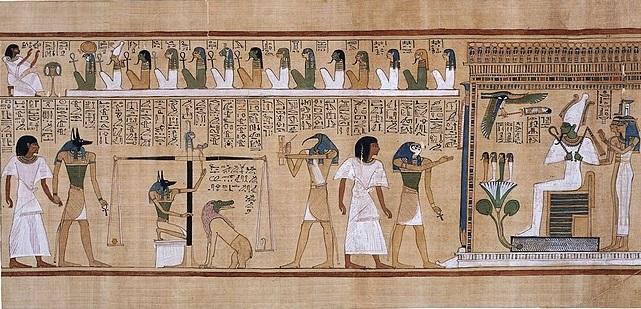 Работа с основными Богами в египетском пантеоне